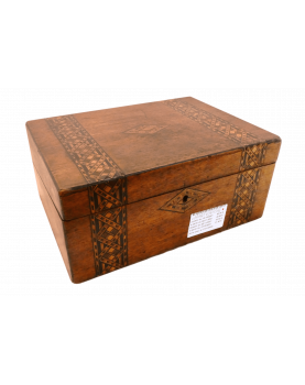 Old Inlaid Writing Case