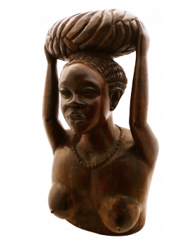 Woman Carved Wood