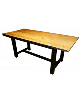 Black Cerused Table