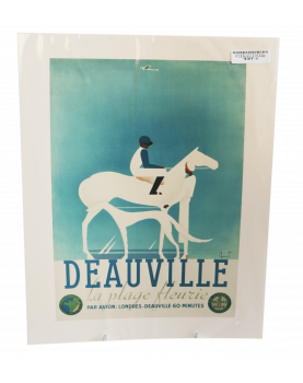 DEAUVILLE PLAGE poster