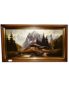 Repro Painting Mountain...