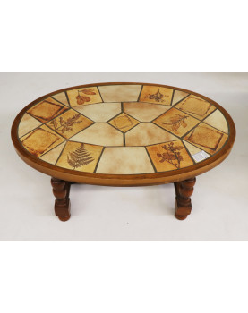 CAPRON Coffee Table Not Signed