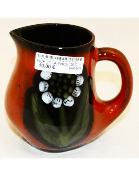 Earthenware Pitcher Floral...