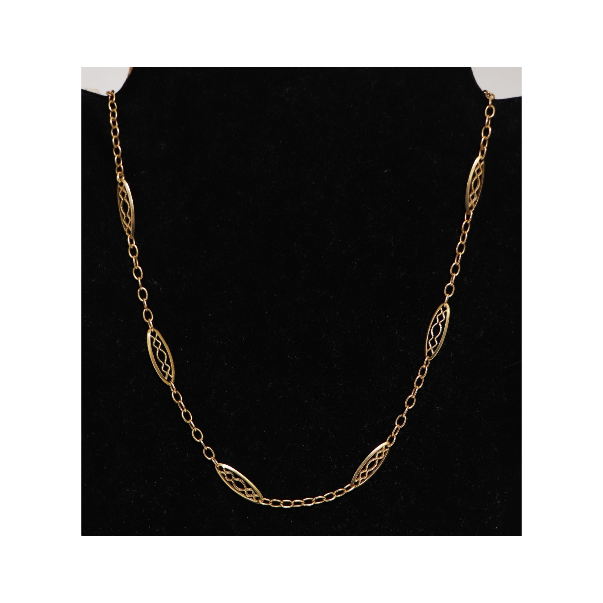 Necklace in 18K Gold 7 GRA
