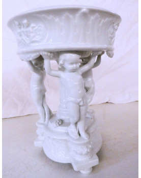 Coupe Angelots Porcelaine...