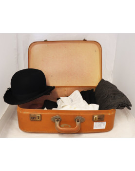 Norman costume in its Suitcase
