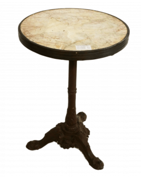 Old White Bistro Table
