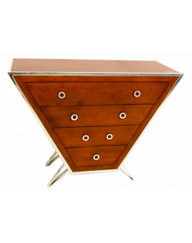 Chest of 4 Drawers Chrome...